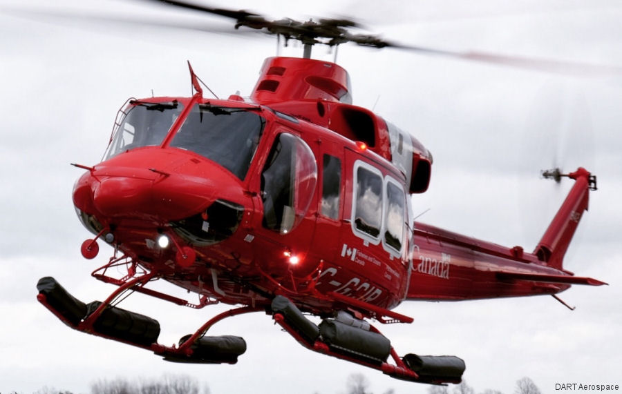 Bell 412epi In Canadian Coast Guard